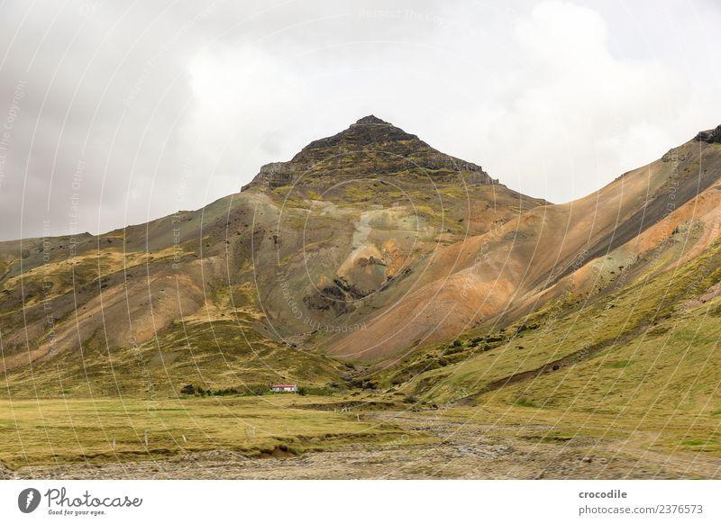Island II Vulkan Ringstrasse Moos Flechten Berge u. Gebirge Lava Eruption grün Panorama (Aussicht) wandern Fluss Gipfel Ferne Bauernhof