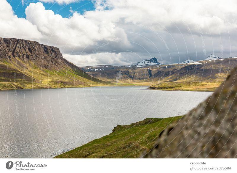 Island III Vulkan Ringstrasse Moos Flechten Berge u. Gebirge Lava grün Panorama (Aussicht) Panorama (Bildformat) wandern Fluss Gipfel Schneebedeckte Gipfel