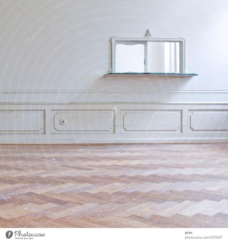 Durchlicht alt weiß schön ruhig Einsamkeit Wand Architektur Mauer hell Raum Wohnung Innenarchitektur groß Zukunft Romantik Dekoration & Verzierung