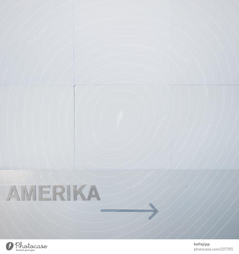 weißes haus weiß Ferien & Urlaub & Reisen Ferne Freiheit hell Schilder & Markierungen Tourismus Schriftzeichen Zukunft Lifestyle Symbole & Metaphern USA Pfeil Richtung Museum Amerika
