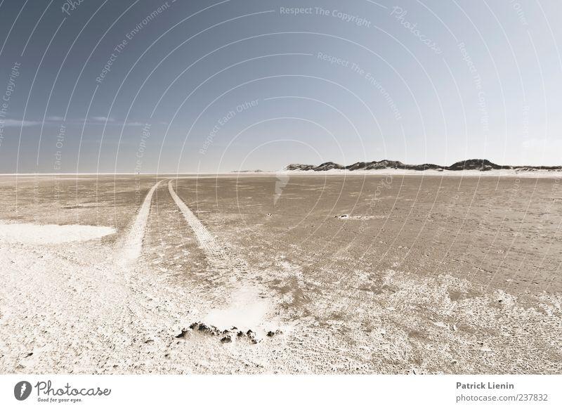 Spiekeroog | Abenteuer Himmel Natur blau Meer Strand ruhig Einsamkeit Ferne Umwelt Landschaft Küste Freiheit Sand Stimmung Wetter Zufriedenheit