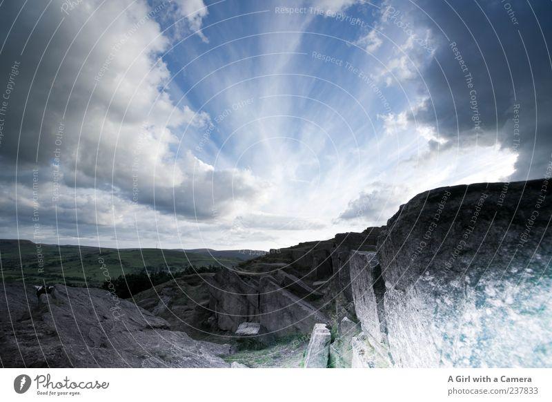 anger came by Himmel Natur blau schön Sommer Wolken Umwelt Landschaft Berge u. Gebirge oben Wind Felsen Klima wild außergewöhnlich Urelemente