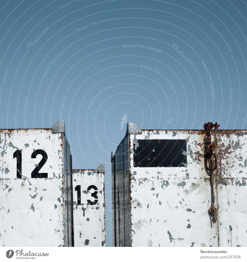 Spiekeroog | Abkoffern Himmel Metall Schilder & Markierungen Industrie Ziffern & Zahlen Güterverkehr & Logistik Beruf Zeichen Kasten Dienstleistungsgewerbe