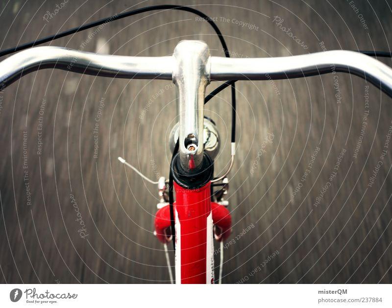 I want to ride... Kunst ästhetisch Alltagsfotografie Fahrrad Fahrradfahren Fahrradbremse Fahrradlenker Fahrradweg Rennsport Geschwindigkeit