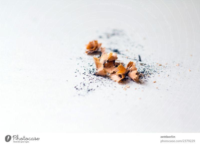 Bleistiftspitzerspäne Anspitzer Büro Grafik u. Illustration Holz Spitze Späne Holzspäne zeichnen malen Zeichnung Mediengestalter Grafiker illustrieren Kunst
