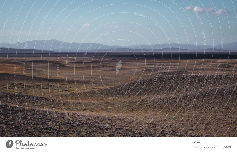 Abendland Natur Himmel Ferien & Urlaub & Reisen Ferne Sand Landschaft Linie Umwelt Horizont Erde Reisefotografie Klima Wüste außergewöhnlich Hügel trocken