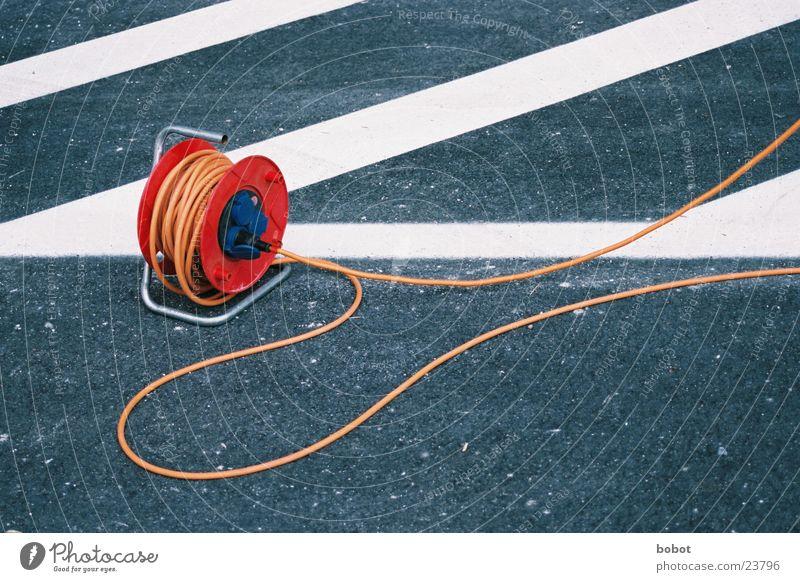 Komm zu Pappi (2) Stecker Teer Handwerk elektrisch Elektromonteur Elektrisches Gerät Elektrizität Technik & Technologie Kabeltrommel Elektronik Leitung
