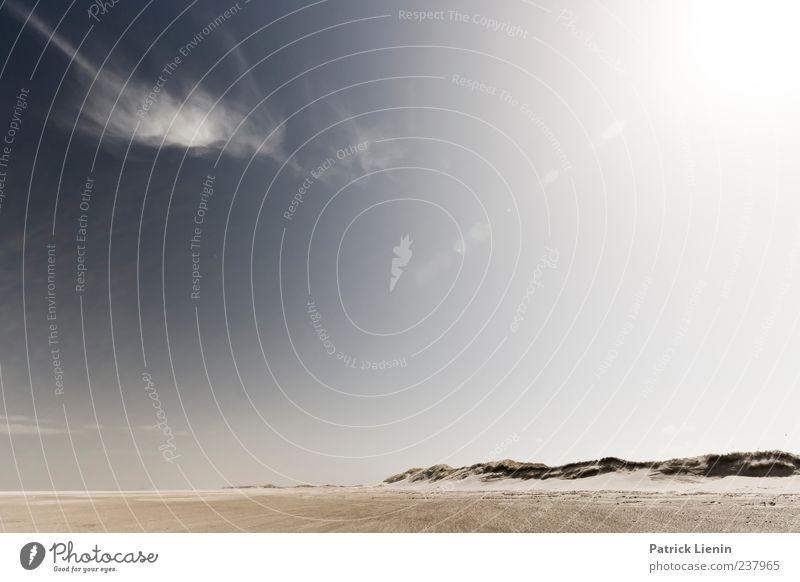 Spiekeroog | blendende Aussichten Himmel Natur blau Meer Strand ruhig Einsamkeit Ferne Umwelt Landschaft Küste Freiheit Sand Stimmung Horizont Wetter
