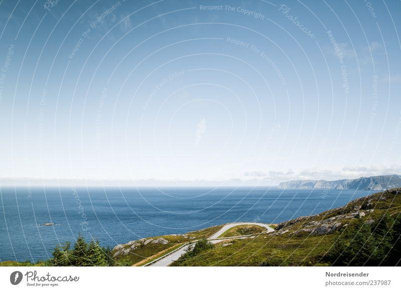 Westkapp harmonisch Ferien & Urlaub & Reisen Tourismus Ausflug Sommer Sommerurlaub Meer Insel Berge u. Gebirge Natur Landschaft Himmel Horizont Schönes Wetter