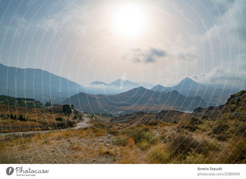 Landschaft Kreta harmonisch ruhig Ferien & Urlaub & Reisen Tourismus Ausflug Abenteuer Ferne Freiheit Sommer Sonne Umwelt Natur Erde Luft Himmel