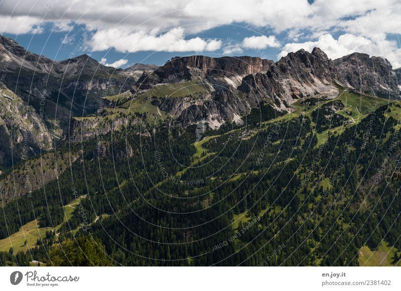 Cirspitzen 2 Ferien & Urlaub & Reisen Tourismus Ausflug Abenteuer Ferne Freiheit Sommer Sommerurlaub Berge u. Gebirge wandern Natur Landschaft Felsen Alpen