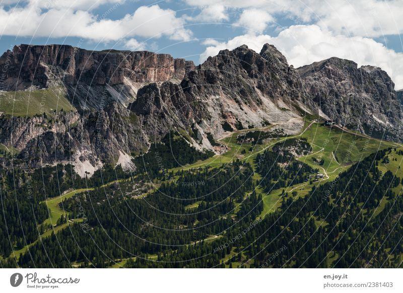 Cirspitzen Natur Ferien & Urlaub & Reisen Sommer Landschaft Erholung Ferne Berge u. Gebirge Tourismus Freiheit Felsen Ausflug Freizeit & Hobby wandern Idylle