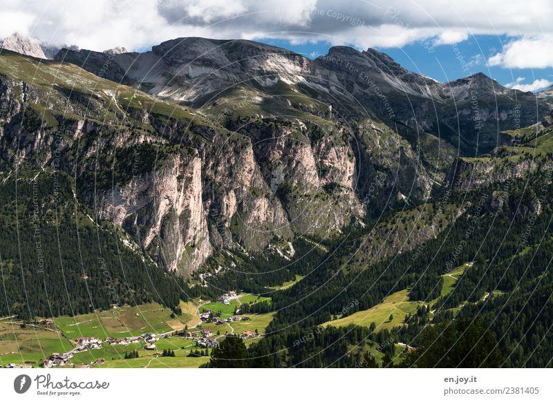 Langental Ferien & Urlaub & Reisen Tourismus Ausflug Abenteuer Ferne Freiheit Sommer Sommerurlaub Berge u. Gebirge wandern Natur Landschaft Felsen Alpen