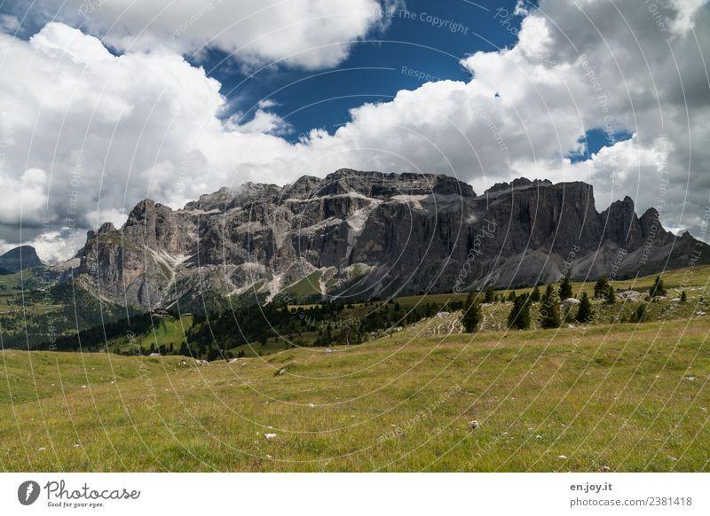 Dolomiten 1 Freizeit & Hobby Ferien & Urlaub & Reisen Tourismus Ausflug Abenteuer Ferne Freiheit Sommer Sommerurlaub Berge u. Gebirge wandern Umwelt Natur