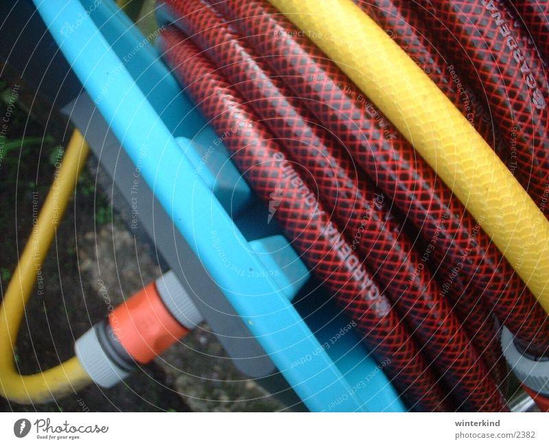 Schlauchwagen mehrfarbig Farbe Garten