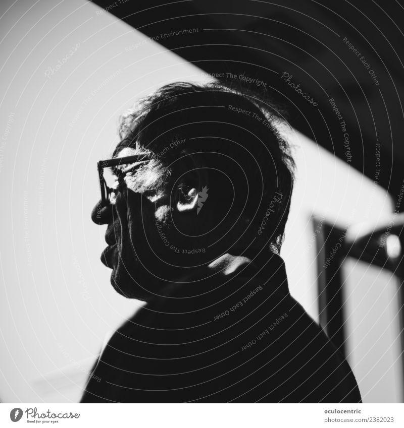 Mensch Mann alt Erwachsene Kopf Stimmung ästhetisch 45-60 Jahre stehen Zukunft warten harmonisch Lebensalter erleben kompetent 2017