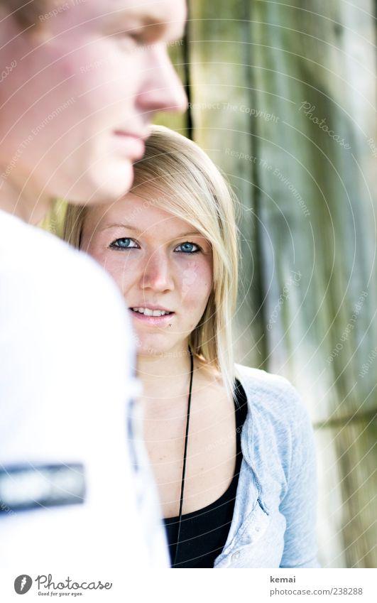 Geschwister (I/II) Lifestyle Stil Gesicht Mensch maskulin feminin Junge Frau Jugendliche Junger Mann Bruder Schwester Erwachsene Leben Kopf Auge Nase Mund