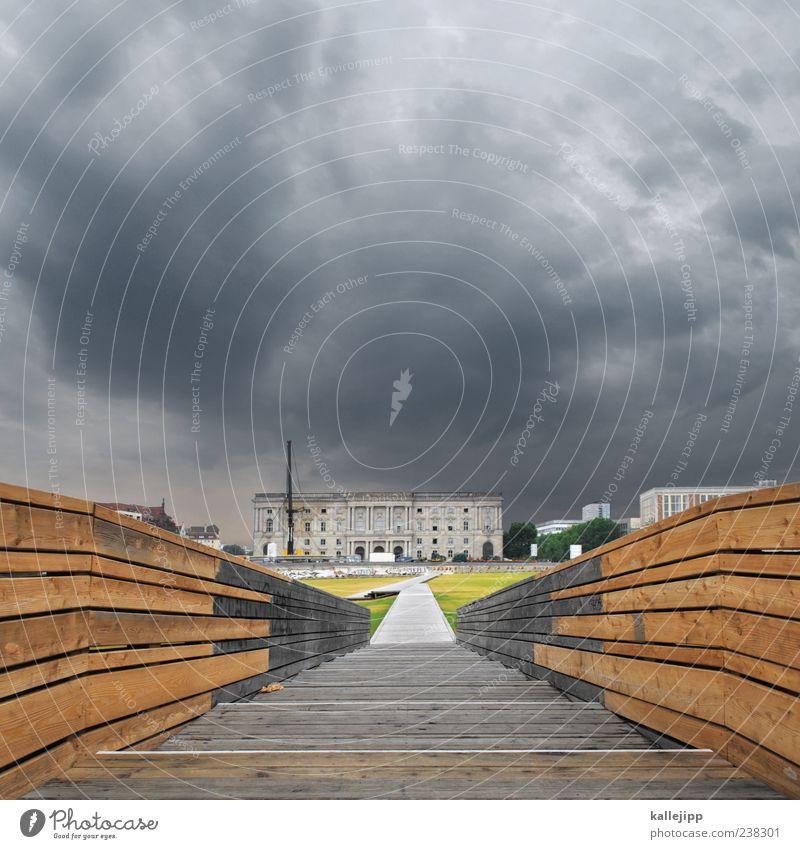 ich bau dir ein schloß Stadt Ferien & Urlaub & Reisen Sommer Haus Berlin Architektur Gras Wege & Pfade Gebäude Kunst braun Wetter Fassade Treppe Ausflug