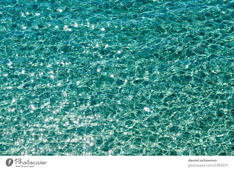 neulich am Meer 2 Ferien & Urlaub & Reisen Sommer blau Wasser Sonne Strand Wellen Sommerurlaub rein türkis