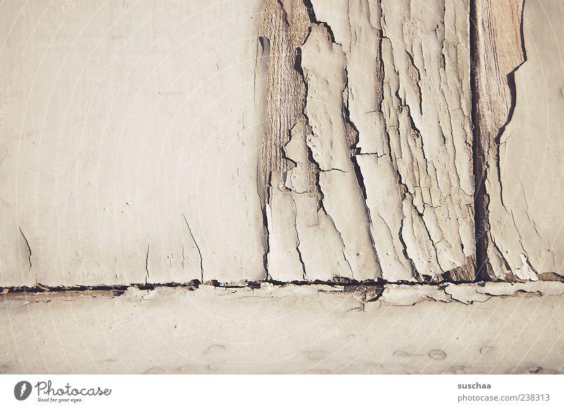 rissig .. (2) alt Wand Holz Mauer Fassade kaputt Wandel & Veränderung Vergänglichkeit verfallen Verfall Riss verwittert Lack abblättern