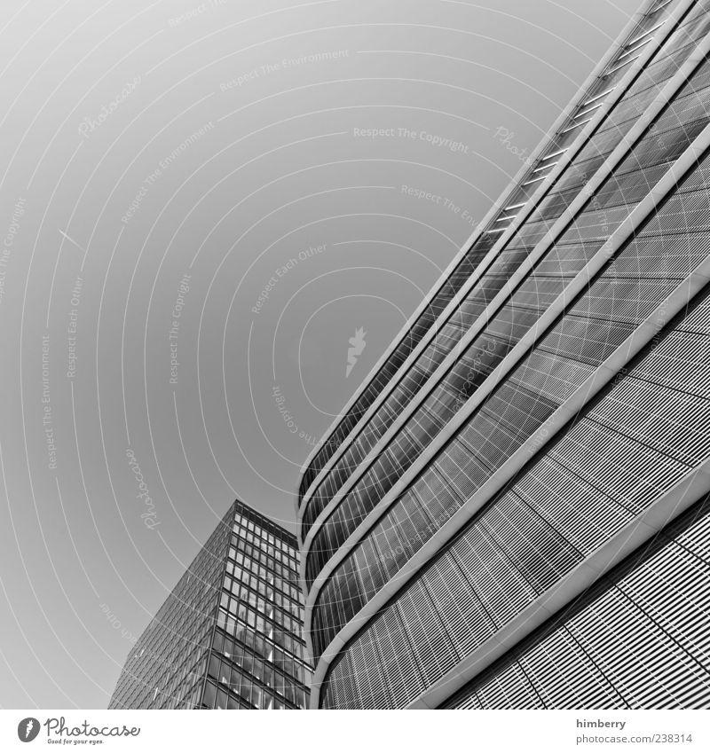good grey Wirtschaft Handwerk Düsseldorf Stadt Hauptstadt Hafenstadt Haus Hochhaus Bankgebäude Industrieanlage Bauwerk Gebäude Architektur Fassade Fenster