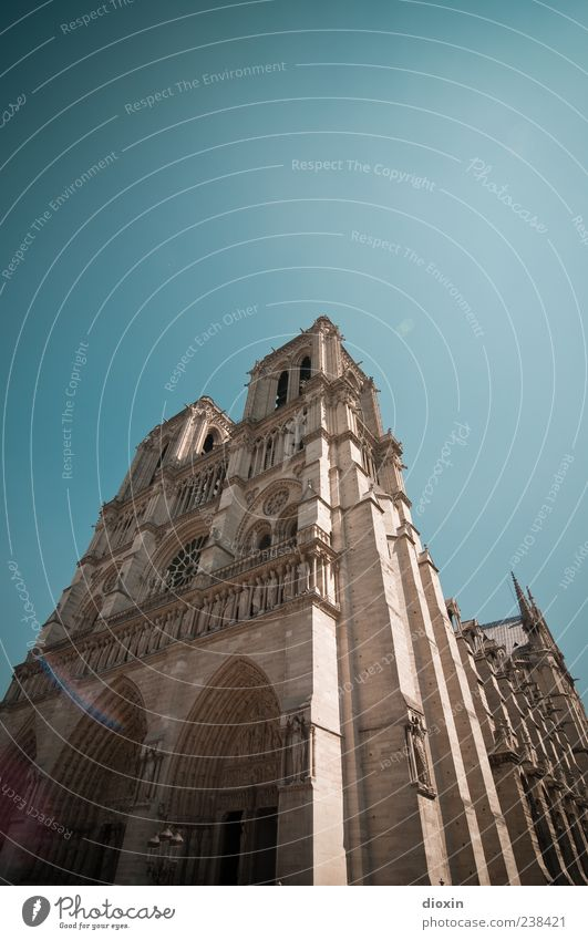 ehemaliges Weindepot Ferien & Urlaub & Reisen Tourismus Ausflug Sightseeing Städtereise Frankreich Europa Hauptstadt Stadtzentrum Menschenleer Kirche Dom