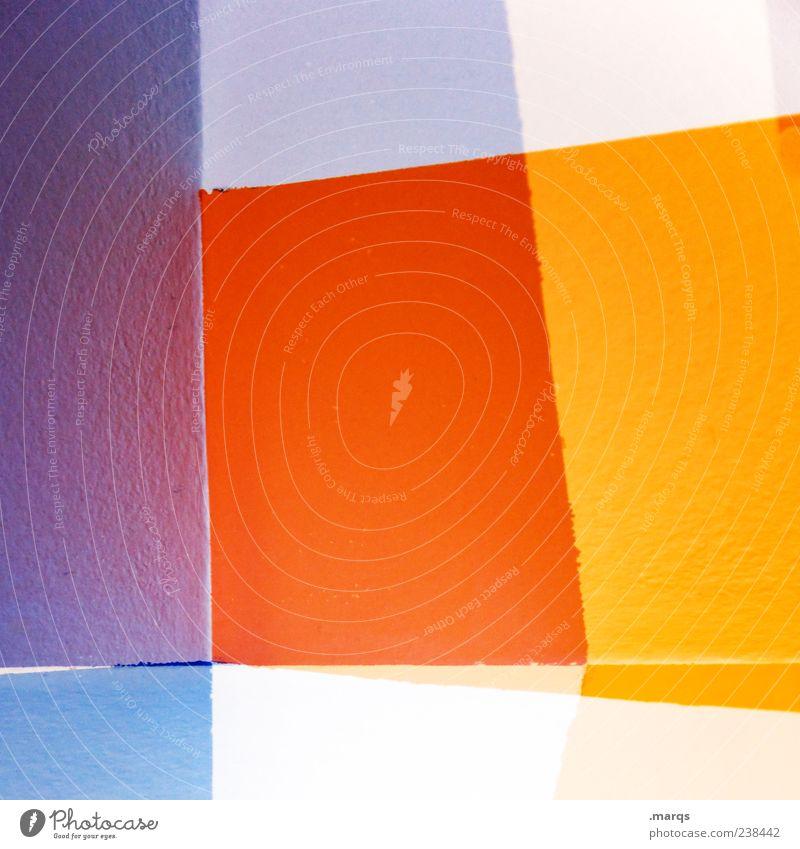 Edge Lifestyle Stil Design Kunst Linie Streifen leuchten außergewöhnlich hell trendy einzigartig verrückt mehrfarbig chaotisch Farbe Grafik u. Illustration