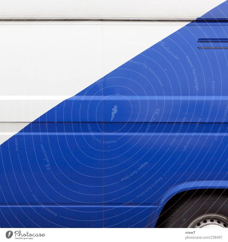 HSV Olé blau Farbe weiß Linie Metall PKW Verkehr Ordnung modern authentisch ästhetisch retro einfach einzigartig Zeichen Streifen
