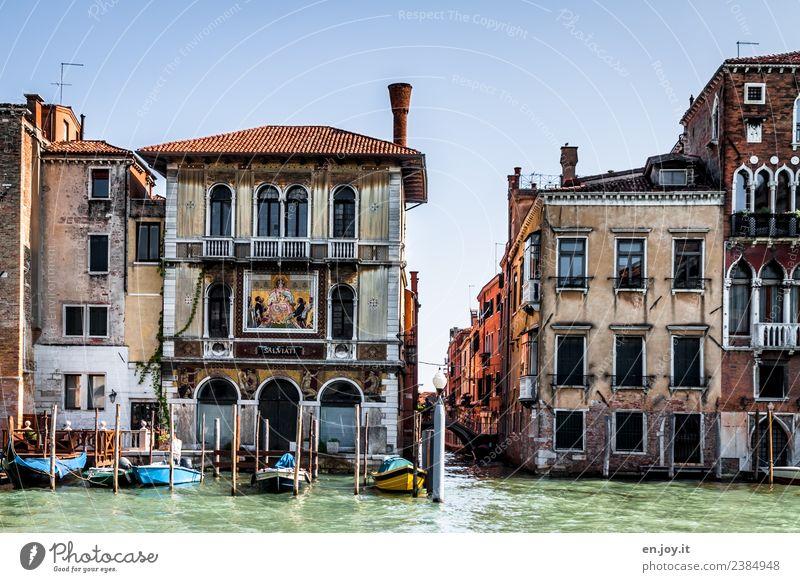 Haus am See Ferien & Urlaub & Reisen Tourismus Ausflug Sightseeing Städtereise Sommer Sommerurlaub Häusliches Leben Wohnung Traumhaus Kanal Canal Grande Venedig