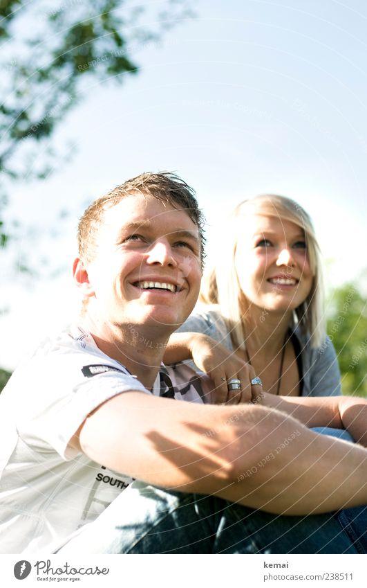 Geschwister (II/II) Mensch Jugendliche schön Freude Gesicht Auge Leben feminin lachen Haare & Frisuren Kopf Familie & Verwandtschaft Mund Zufriedenheit hell Zusammensein