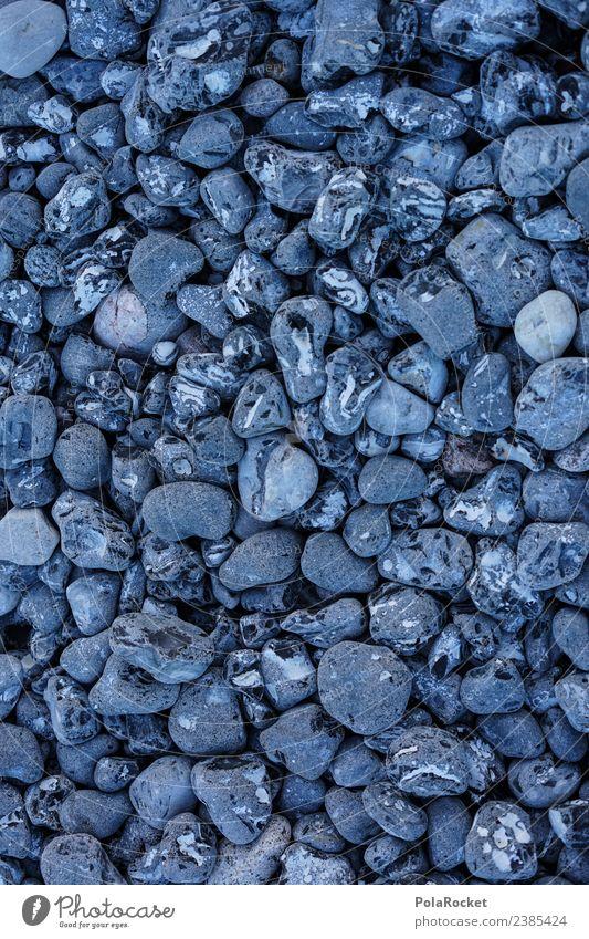 #S# harte Freunde Stein alt Meer Strand Ostsee Ostseeinsel Binz viele Muster Strukturen & Formen Ordnung Vielfältig groß klein Natur grau Hintergrund neutral