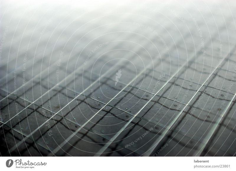 Gitterraster Glas Perspektive Industrie Fensterscheibe Draht Quader Sicherheitsglas