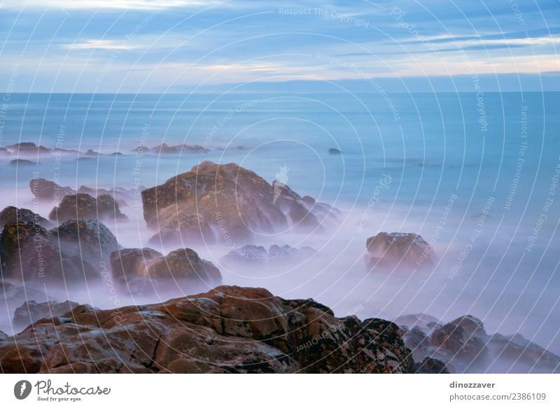 Himmel Natur Ferien & Urlaub & Reisen Sommer blau schön Landschaft Sonne Meer Wolken Strand dunkel schwarz Umwelt natürlich Küste