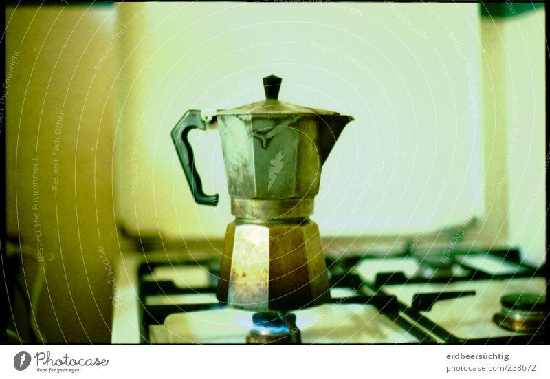 La Mocca Ernährung frisch Häusliches Leben Getränk Kaffee retro Kochen & Garen & Backen genießen lecker Frühstück Duft positiv Geborgenheit Herd & Backofen Originalität Espresso