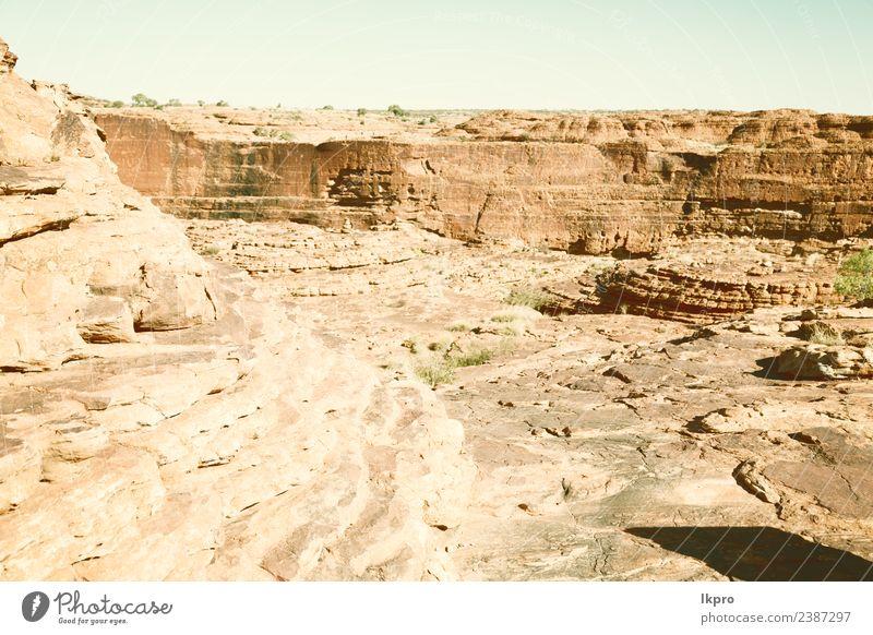 Himmel Ferien & Urlaub & Reisen Pflanze schön Landschaft Baum rot Berge u. Gebirge natürlich Tourismus Stein Felsen wild Park Aussicht Wind