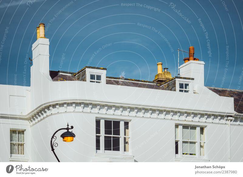 Fassade Wohnhaus Brighton, England Himmel Stadt weiß Sonne Haus Fenster Hintergrundbild Architektur Gebäude Lampe Zufriedenheit Dach Straßenbeleuchtung Balkon