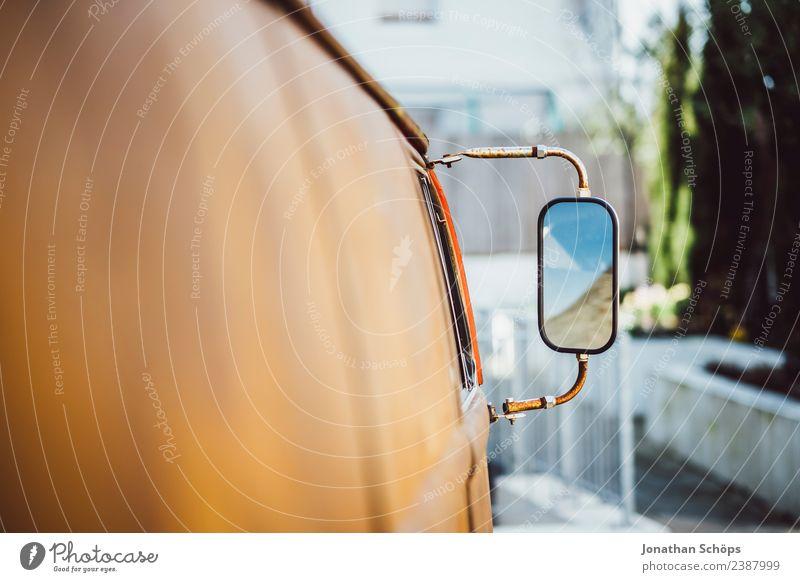 alter verrosteter Hippie Bus Lifestyle elegant Stil Freude Glück Freizeit & Hobby Verkehr Verkehrsmittel Autofahren Fahrzeug Oldtimer ästhetisch Zufriedenheit