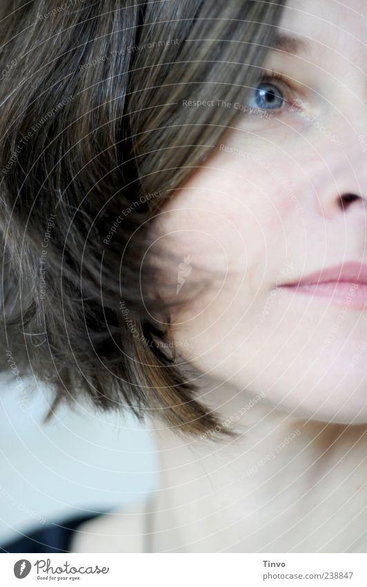 You've Got A Friend feminin Junge Frau Jugendliche Haare & Frisuren Gesicht Auge 1 Mensch 30-45 Jahre Erwachsene brünett schön ruhig Farbfoto Innenaufnahme