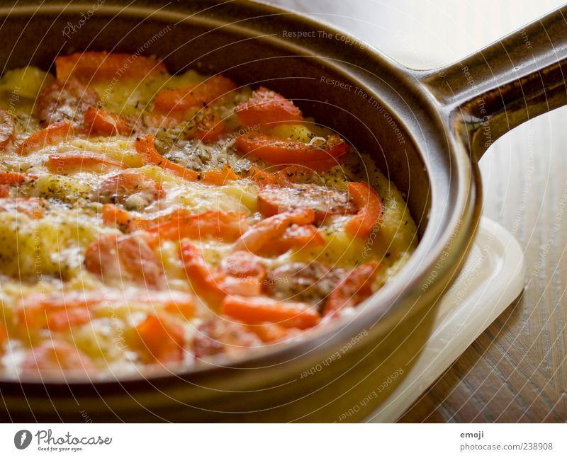 Auflauf Ernährung Kochen & Garen & Backen lecker Abendessen Pizza Mittagessen Tomate Vegetarische Ernährung Lebensmittel Pfanne Gemüse Gratin Polenta
