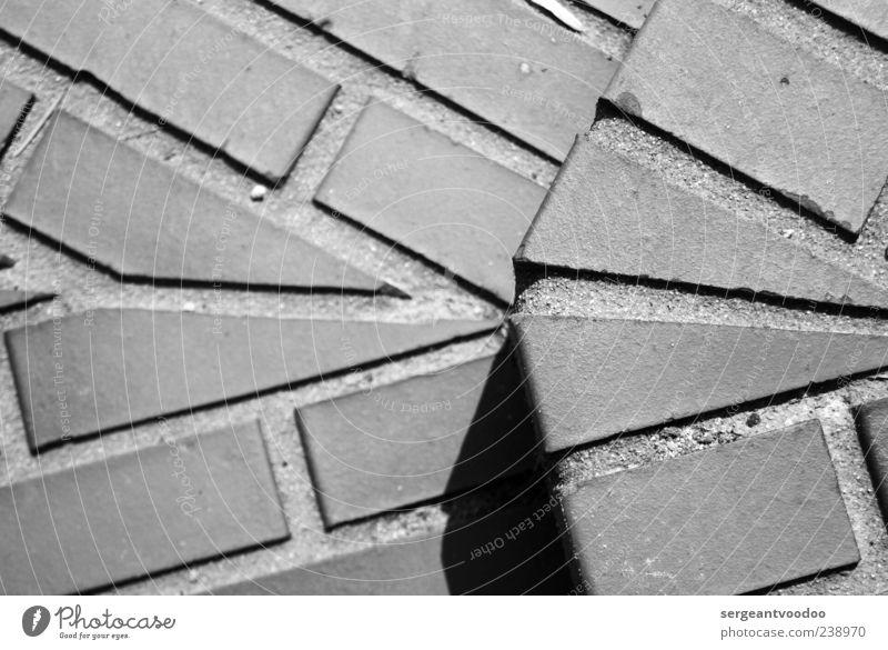 The Edge weiß schwarz Architektur Wege & Pfade grau Stein Linie Treppe Beginn Häusliches Leben Ecke Baustelle Sauberkeit Bauwerk fest Backstein