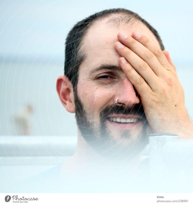 particula day, part 1 Mensch Mann Hand Freude Erwachsene Gesicht Erholung Auge Kopf lachen Zufriedenheit Mund maskulin Fröhlichkeit ästhetisch einzigartig