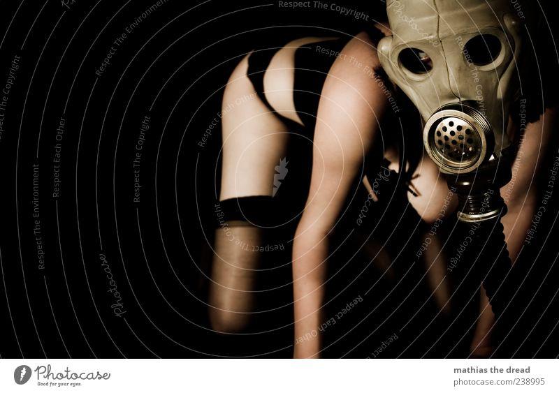 AKT I Stil Mensch feminin Junge Frau Jugendliche 18-30 Jahre Erwachsene Strümpfe Unterwäsche Accessoire atmen ästhetisch dunkel schön verrückt einzigartig