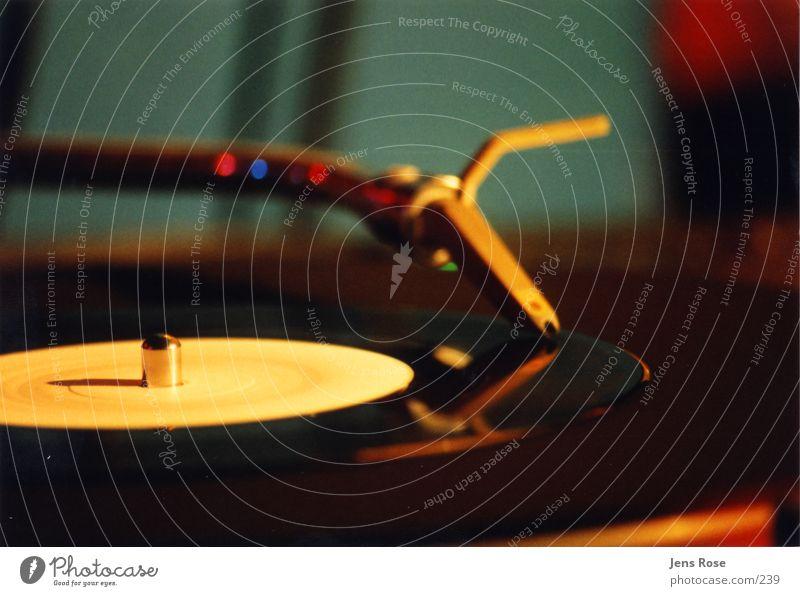 Clubstuff01 Schallplatte Diskjockey Licht Foyer ruhig Tanzen Musik Plattenspieler Technik & Technologie Plattenteller