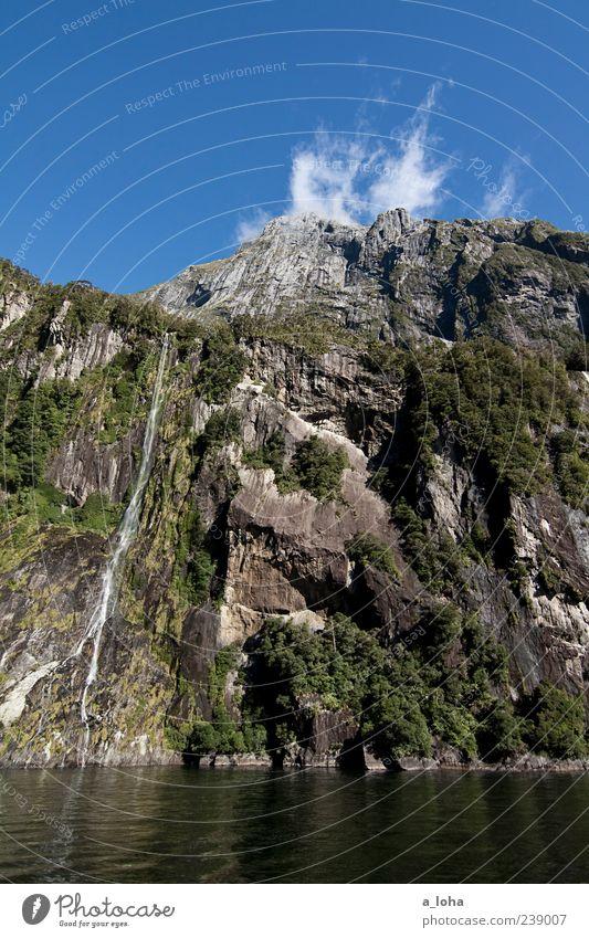 dear john. Natur Landschaft Pflanze Urelemente Erde Luft Wasser Himmel Wolken Herbst Schönes Wetter Felsen Berge u. Gebirge Gipfel Küste Flussufer Fjord