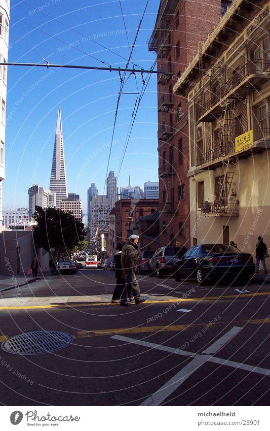 San Francisco Mann Linie Kabel Mischung Nordamerika