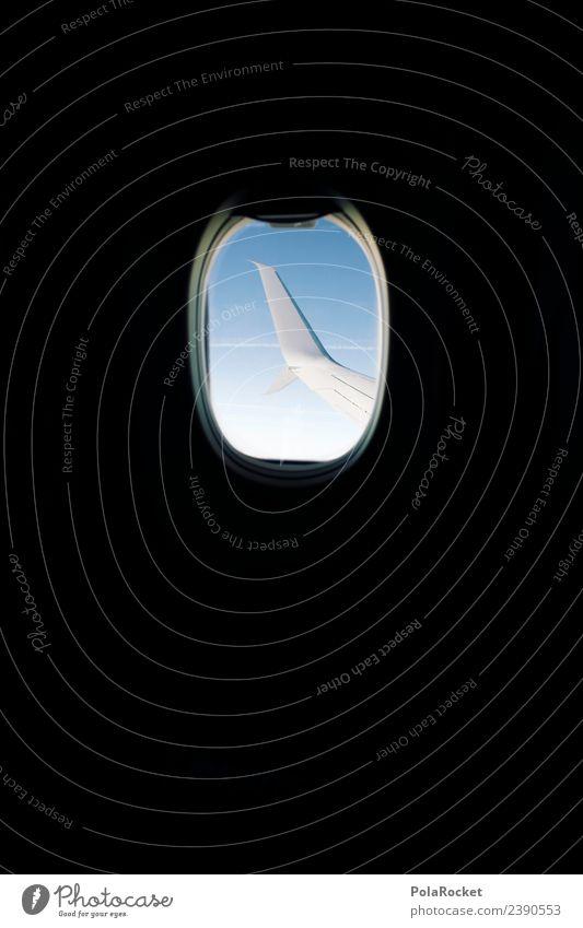 #A# high Himmel Ferien & Urlaub & Reisen Fenster Reisefotografie fliegen Verkehr ästhetisch Luftverkehr hoch Flugzeug Tragfläche Flugangst Flugzeugstart Fernweh