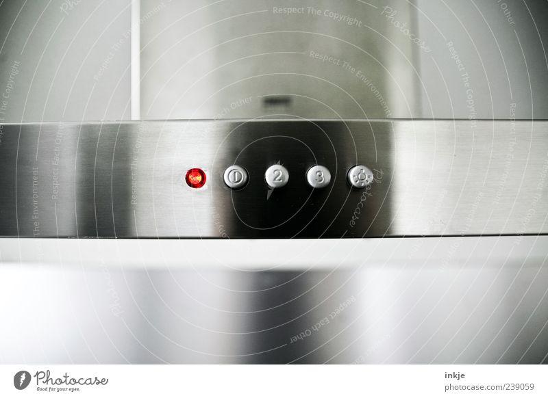 beam me up rot kalt grau Metall 2 Ordnung Energie 3 Design modern Ziffern & Zahlen Küche Zeichen rein Stahl Duft