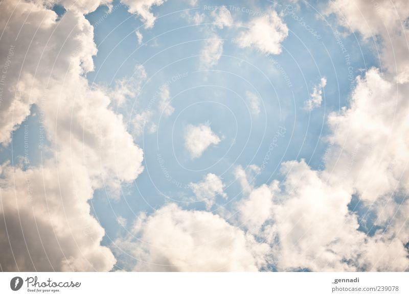 Himmel auf Erden Umwelt Natur Wolken Klima Wetter Schönes Wetter Coolness fantastisch blau Kontrast schön Energie Vorfreude Farbfoto Außenaufnahme Menschenleer