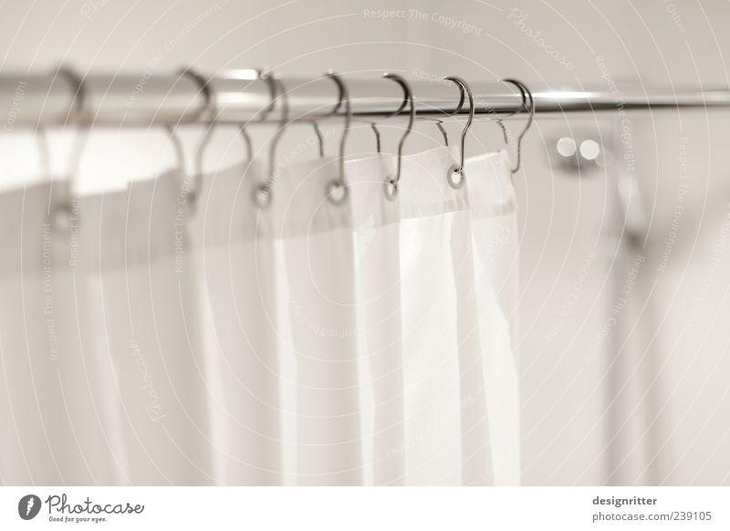 … über meinen Rücken kalt hell Wohnung frisch Häusliches Leben Bad Sauberkeit heiß Erfrischung Vorhang Dusche (Installation) Stab Haken