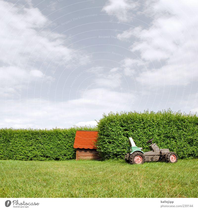 bauernhaus Himmel Natur grün rot Sommer Wolken Haus Umwelt Landschaft Wiese Gras Garten Sträucher Rasen Hütte Garage